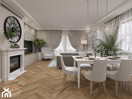 Aranżacje wnętrz - Salon: Kuchnia- Rudnik - Retro Studio. Przeglądaj, dodawaj i zapisuj najlepsze zdjęcia, pomysły i inspiracje designerskie. W bazie mamy już prawie milion fotografii!