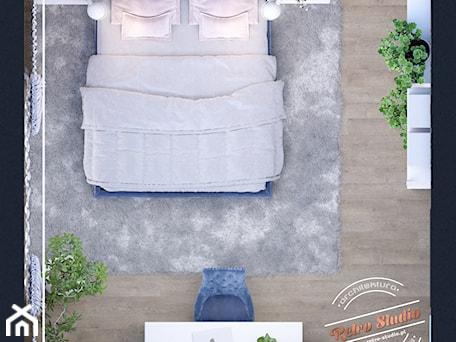 Aranżacje wnętrz - Sypialnia: Sypialnia AK - Średnia szara sypialnia małżeńska, styl prowansalski - Retro Studio. Przeglądaj, dodawaj i zapisuj najlepsze zdjęcia, pomysły i inspiracje designerskie. W bazie mamy już prawie milion fotografii!