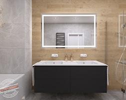 Łazienka 8 m2 - Łazienka, styl skandynawski - zdjęcie od Retro Studio - Homebook