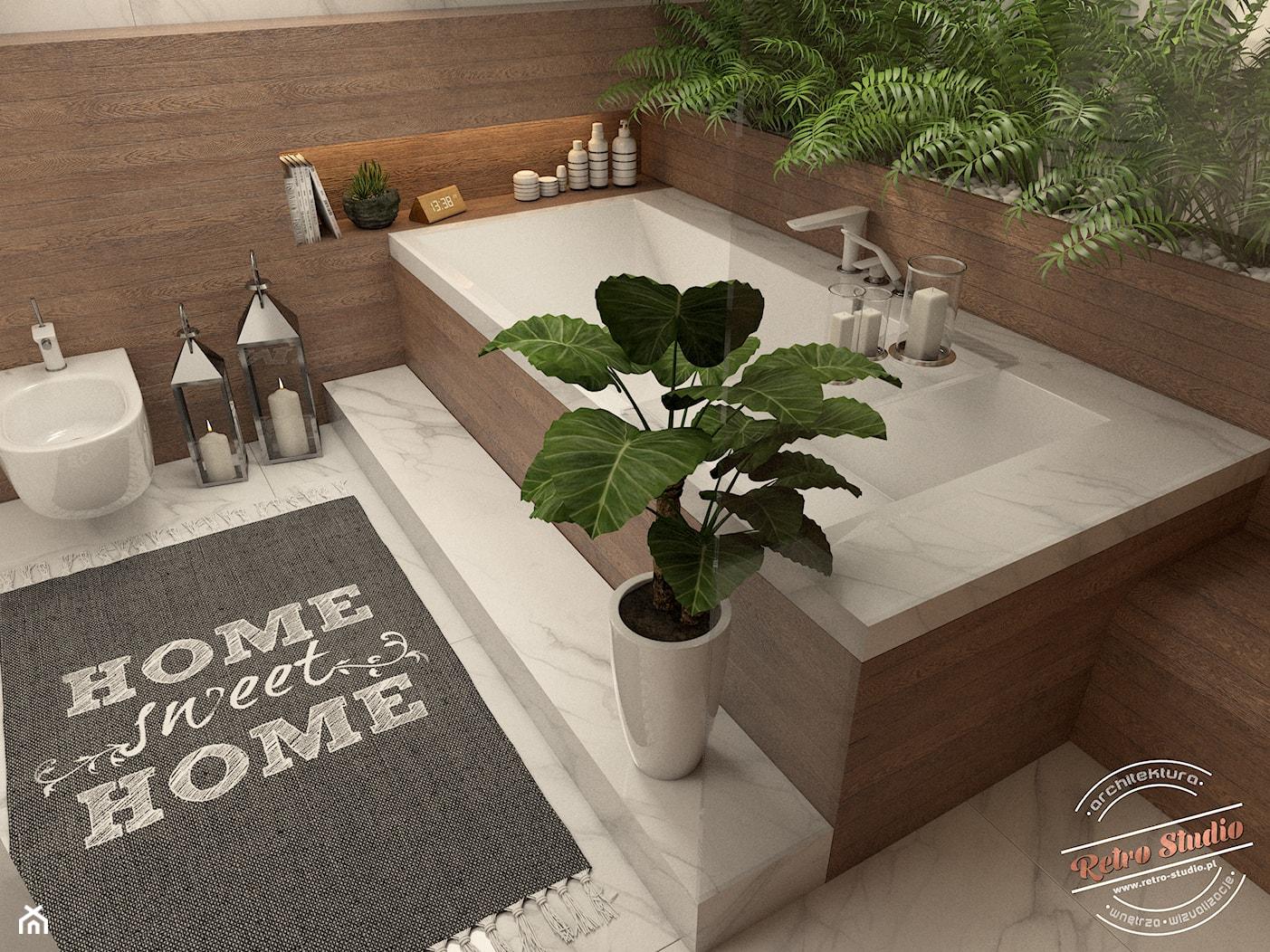 Łazienka spa - zdjęcie od Retro Studio - Homebook