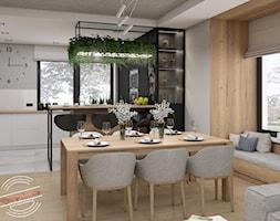 Projekt kuchni otwartej - zdjęcie od Retro Studio - Homebook