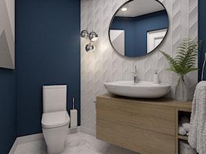 Toaleta na parterze - dom szeregowy