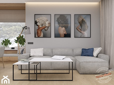 Aranżacje wnętrz - Salon: Salon - Retro Studio. Przeglądaj, dodawaj i zapisuj najlepsze zdjęcia, pomysły i inspiracje designerskie. W bazie mamy już prawie milion fotografii!