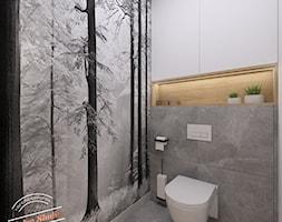 Toaleta 2,5 m2 - Łazienka, styl skandynawski - zdjęcie od Retro Studio - Homebook
