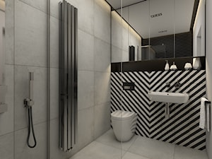 Łazienka 4,5 m2 - zdjęcie od Retro Studio