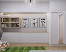 Pokój 7latka 12,45 m2 - Pokój dziecka, styl minimalistyczny - zdjęcie od Retro Studio - Homebook