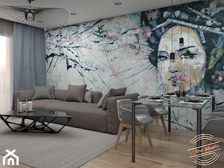 Aranżacje wnętrz - Salon: Mieszkanie 55m2 - Retro Studio. Przeglądaj, dodawaj i zapisuj najlepsze zdjęcia, pomysły i inspiracje designerskie. W bazie mamy już prawie milion fotografii!