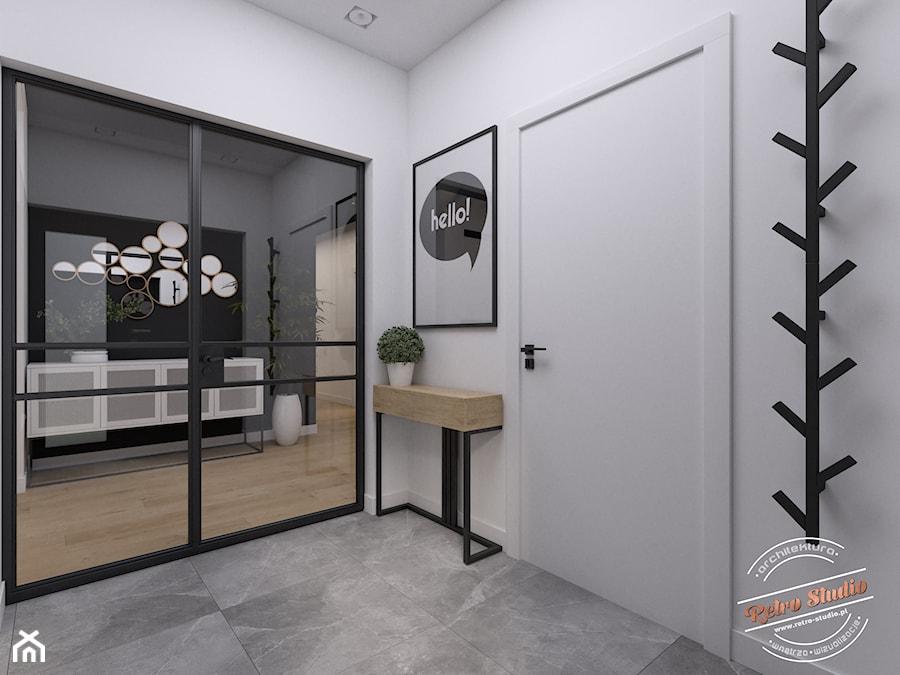 Dom jednorodzinny NP - Hol / przedpokój, styl industrialny - zdjęcie od Retro Studio