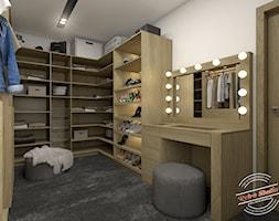 Garderoba przy sypialni - zdjęcie od Retro Studio