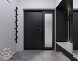 Dom jednorodzinny NP - Hol / przedpokój, styl nowoczesny - zdjęcie od Retro Studio - Homebook