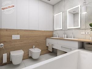 Łazienka damska 5,8 m2 - zdjęcie od Retro Studio