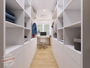 Mieszkanie 57 m2 - Garderoba, styl skandynawski - zdjęcie od Retro Studio