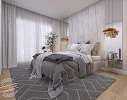 Sypialnia 16 m2 - Sypialnia, styl skandynawski - zdjęcie od Retro Studio - Homebook
