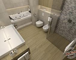 Łazienka 10,5 m2 - zdjęcie od Retro Studio