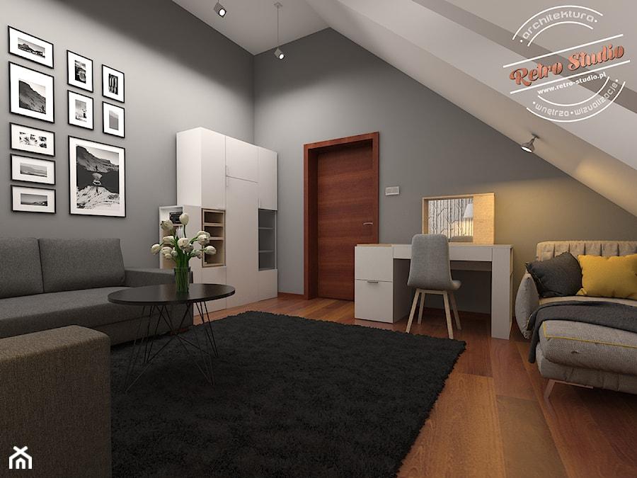 Pokoj gościnny II - zdjęcie od Retro Studio