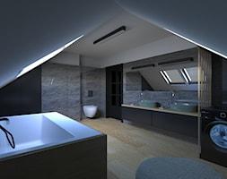 Projekt wnętrza łazienki - zdjęcie od Labstudio - Architektura wnętrz & Design
