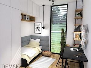 Pokój dla nastolatki - zdjęcie od Demska. Studio Projektowe
