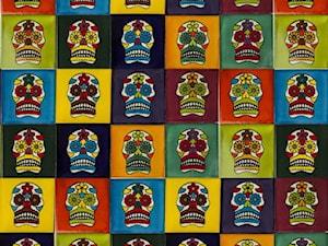 Patchworki z płytek meksykańskich idealne na powiew świeżości w pomieszczeniu