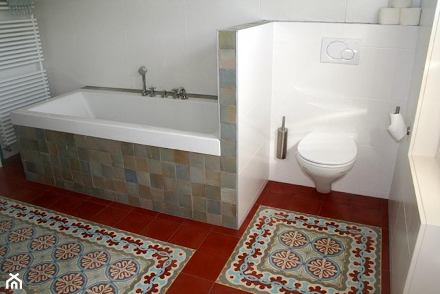 Płytki Cementowe Loto W łazience Zdjęcie Od Cerames Homebook