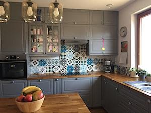Patchworki w kuchni nad platem - zdjęcie od Cerames