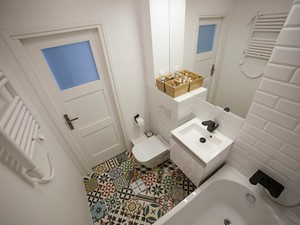 Metamorfoza łazienki. Momenty PRZED i PO remoncie