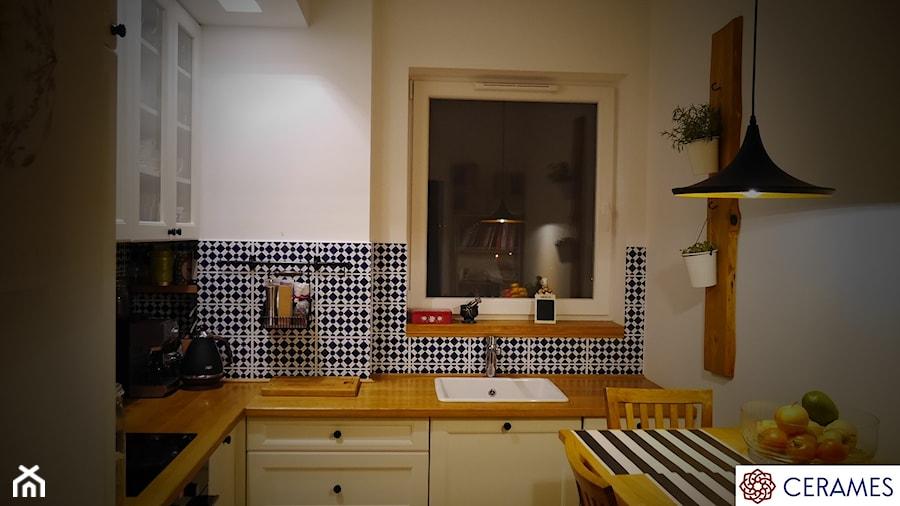 Hiszpańskie Płytki Ceramiczne W Kuchni Kuchnia Styl Klasyczny