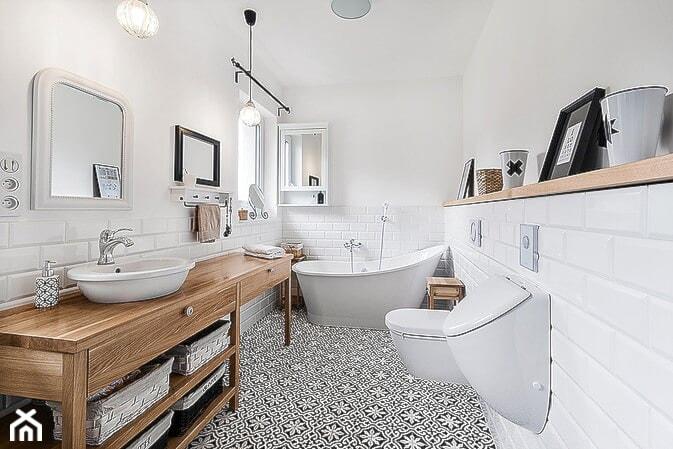 Płytki Cementowe W łazience Zdjęcie Od Cerames Homebook