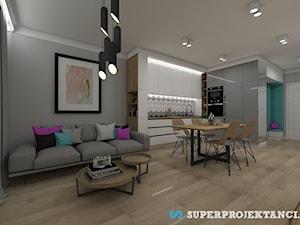 Projekt mieszkania 60m2 w Zamościu