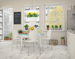 Lampa wisząca Złote tulipany - zdjęcie od Oświetlenie DOM.pl