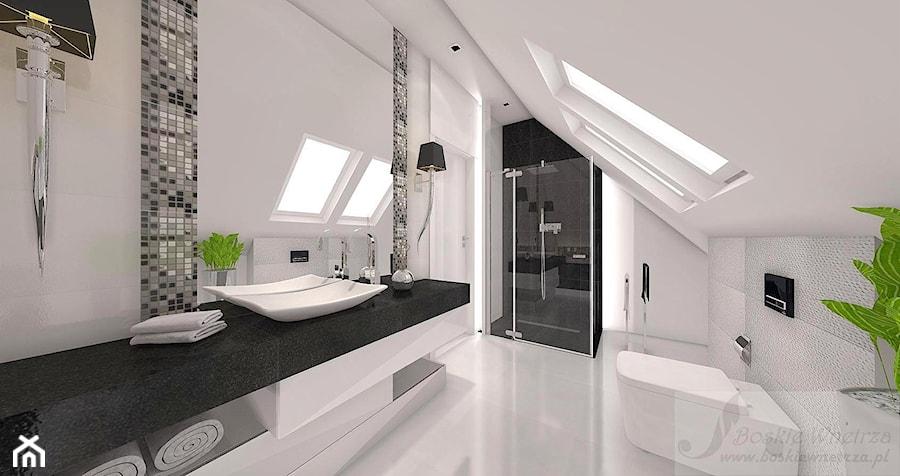Dom W Stylu Glamour łazienka Styl Glamour Zdjęcie Od