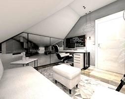 Biuro W Domu Projekt Wnętrza Mieszkalnego Boskie Wnetrza I Ty