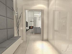 ARANŻACJA DOMU 1 - Mały biały salon, styl nowoczesny - zdjęcie od Boskie Wnetrza i Ty