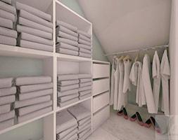 POKÓJ FANKI KRÓLICZKÓW - Mały biały szary pokój dziecka dla dziewczynki dla nastolatka - zdjęcie od Boskie Wnetrza i Ty - Homebook