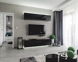 Projekt wnętrza mieszkania w nowoczesnym stylu. - zdjęcie od Katarzyna Rudak - Architektura Wnętrz Gryfów Śląski - Homebook