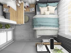 Kompaktowa sypialnia
