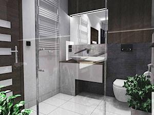 Projekt łazienki w Kątach Wrocławskich