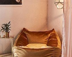 VELUR - Mały szary salon, styl vintage - zdjęcie od Somethinggood.pl - Homebook