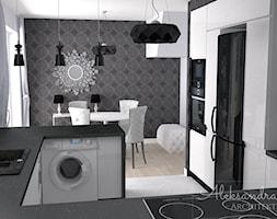 Półwysep w kuchni - zdjęcie od Aleksandra Tymińska Projektowanie Wnętrz - Homebook