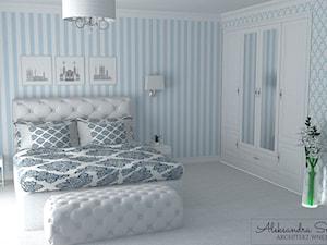 Sypialnia w stylu glamour I Lublin
