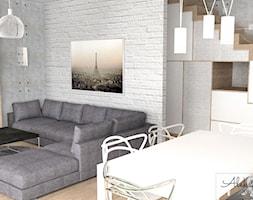 Zabudowa pod schodami - zdjęcie od Aleksandra Tymińska Projektowanie Wnętrz - Homebook
