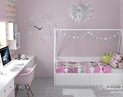 Pokój dla dziewczynki - zdjęcie od Aleksandra Tymińska Projektowanie Wnętrz - Homebook