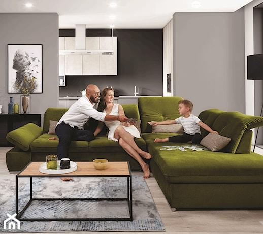 Wygodne meble do salonu – na co zwrócić uwagę, wybierając sofę lub narożnik?