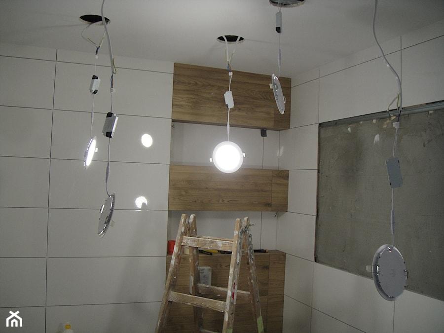 Oświetlenie łazienki Panel Led Zdjęcie Od Abc Remonty