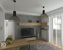 ZĄBKI - Mieszkanie 48m2 - zdjęcie od HD PROJEKT - Studio Projektowania Wnętrz