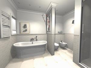 łazienka w stylu Hampton - zdjęcie od Innerium Karolina Trojga