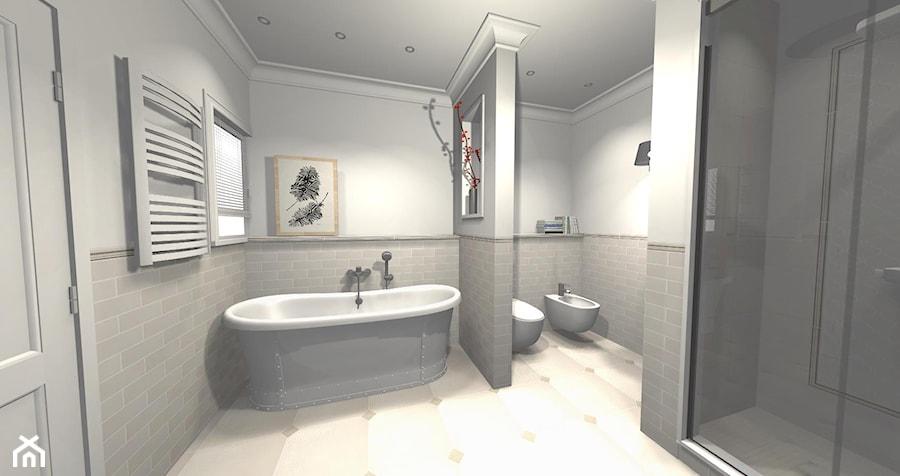 łazienka W Stylu Hampton Zdjęcie Od Innerium Karolina