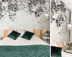 Nowoczesna sypialnia z nutka vintage - zdjęcie od Innerium Karolina Trojga - Homebook