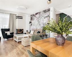 Nowoczesny salon z nutką vintage - zdjęcie od Innerium Karolina Trojga - Homebook