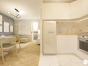 Jasne mieszkanie z drewnianym parkietem. Zdjęcie od Karina Godlewska RINKAGO.PL - zdjęcie od Karina Godlewska