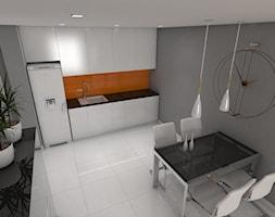 Nowocześnie urządzone mieszkanie Kraków - zdjęcie od MAXlight